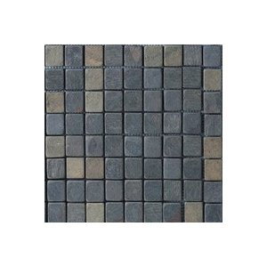 Tumbled Natural Stone Slate Mosaics Indian