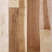 Engineered Flooring Unfinished Hickory Pecan Rustic Grade 3in 4in 5in 6in 7in