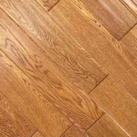 Johnson Distressed Plank Oak Hand Scraped Gold 5in