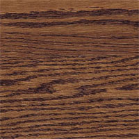 Bruce Riverside Plank Saddle Red Oak