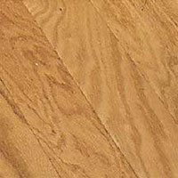 Bruce Glen Cove Plank Saddle Red Oak